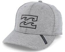 NEW + TAG BILLABONG MENS BOYS ALL DAY S-M CURVED PEAK FLEXFIT CAP HAT GRAPHITE