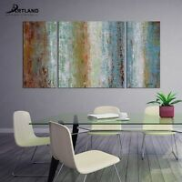 Frame Abstract Oil Painting Handmade Original Wall Art on Canvas for Living Room