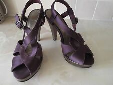 Carvela Purple Heeled Sandals,  Size 5, Very Good Condition
