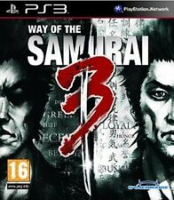 WAY OF THE SAMURAI 3                   -----   pour PS3
