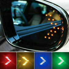 2pcs Auto Car LED Side Rear View Mirror 14SMD Light Turn Signal Lamp Accessories