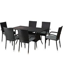 Garten-Essplatz-Sets aus Rattan mit bis zu 6 Sitzplätzen