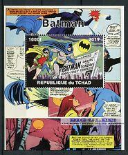 Chad 2017 estampillada sin montar o nunca montada Batman Robin 1v m/s cómics superhéroes sellos
