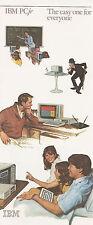 "VINTAGE (1983) IBM PC JR BROCHURE ""THE EASY ONE FOR EVERYONE""  Q"