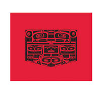 Haida Blanket Cotton Blend Northwest Coast Native Design