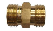M22 / 14mm mâle x M22 / 14mm tuyau nettoyeur électrique mâle adaptateur prise pour karcher etc
