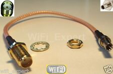 8 inch SMA Female to TS9 Male Pigtail Coaxial RF TS-9 Cable RG316 USA