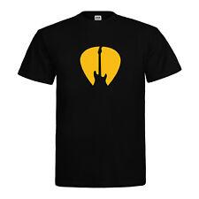 Punk Rock Musik Festival T-Shirt - Plektrum Gitarre  - Neu Gr. S bis 3XL