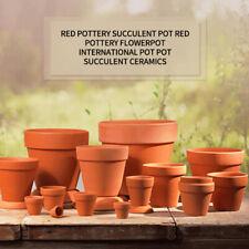 20x 5.5-8cm Terracotta Flower Pot Clay Pottery for Succulent Plants Rose Cactus