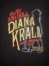 Rare Diana Krall 2013 Glad Rag Concert T-Shirt, Size Medium, Nice Condition!
