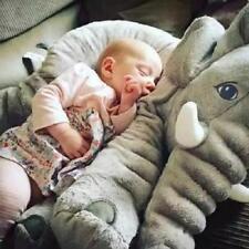 Grey 60cm Colorful Giant Elephant Stuffed Animal Toy Animal Baby Pillow Decor
