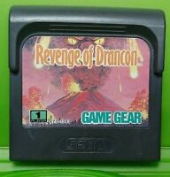 Revenge of Drancon  -  Sega Game Gear Portable Cartridge Rare & Tested / Working