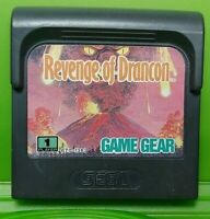 Revenge of Drancon  -  Sega Game Gear Portable Cartridge Rare & Tested / Working