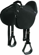 """Soft Ride Saddle by Mustang - 15"""""""