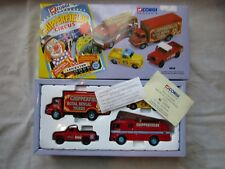 CORGI CHIPPERFIELDS 31703 CIRCUS 4 VEHICLE SET with certificate