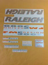 Original Raleigh Bike Stickers : FM 5000 Design