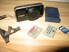 Canon PowerShot SX210IS 14.1 MP Digital Camera with 3.0-Inch LCD - Black