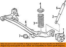 TOYOTA OEM 04-10 Sienna Rear-Shock Absorber or Strut 48531A9050