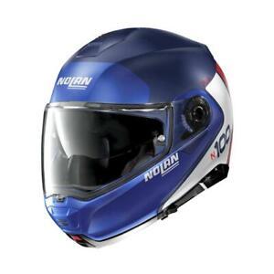 Nolan N100-5 Plus Distinctive Flip up Motorcycle Helmet N-Com Imperator Blue 29