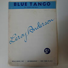 Leroy Anderson Azul Tango trompeta & Piano Piezas