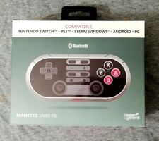 MANETTE SANS FIL RETRO GAMING UNDER CONTROL POUR SWITCH - PS3 - PC - ANDROID