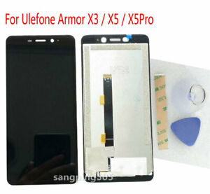 E LCD Display Touch Screen Digitizer Assembly For Ulefone Armor X3 / X5 / X5 Pro