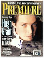 Hugh Grant Signed Autographed Premiere Magazine July 1995 Issue GV857916