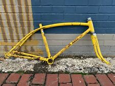 1973 SCHWINN STING-RAY FASTBACK BICYCLE FRAME YELLOW VINTAGE RARE