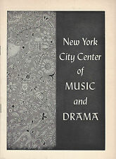 "Barbara Cook ""CAROUSEL"" Howard Keel / Rodgers & Hammerstein 1957 Playbill"