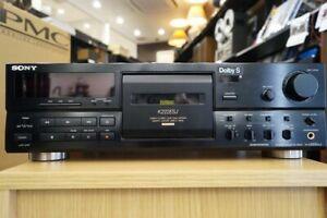 SONY cassette deck TC-K222ESJ Dolby S mounted machine ESJ series EMS rare
