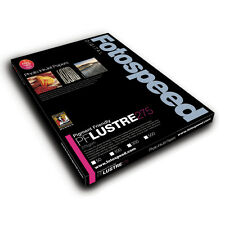 Fotospeed Pigment Friendly 275gsm Lustre Photo Paper. A4 - 50 Sheets. Pro Inkjet