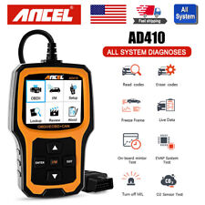 AD410 Car OBD2 Scanner Engine Check clear Fault Code Reader Auto Diagnostic Tool