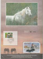 Télécarte editions CEF N°29 avec encart la camargue