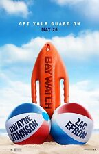 Baywatch Movie Poster (24x36) - Dwayne Johnson, Zac Efron, Kelly Rohrbach v9