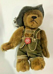 Hermann Original Teddy Bear Lederhosen Wastl 319/1000 Limited Edition Plush