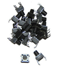 Interruptor plano pulsador / Tactile Switch 6x6x8mm 4 pin x20 units