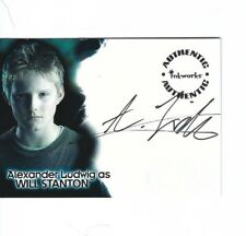 Alexander Ludwig as Will Stanton Autograph in The Dark is Rising A-AL Auto