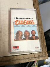 Bee Gees 16 Greatest Hits Mexico Import VERY RARE Cassette Polydor MCE 1057