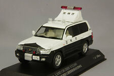 RAI'S 1/43 TOYOTA LAND CRUISER UZJ100 Police Car MPD Japan H7430410 Gift Sale