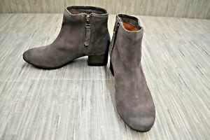 Trask Vivian 36-0929 Booties, Women's Size 7.5M, Dark Gray NEW