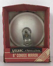 "Velvac 6"" Convex Mirror Head With Bracket In White Finish"