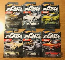 Hot Wheels Fast and the Furious Set Walmart Exclusive.