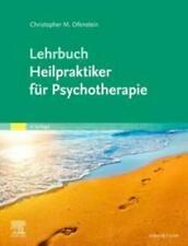 Lehrbuch Heilpraktiker für Psychotherapie Christopher Ofenstein Buch Deutsch