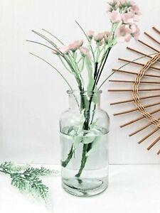 Glass Bud Vase Vintage Flower Bottle Wedding Table Decor Home Valentine Gift