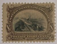 TRAVELSTAMPS: 1901 US Stamps Scott # 298 8 cents, Pan-American Mint Og Nh Mnh
