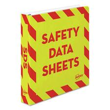 Avery 18950 Hd 11 In X 85 In 15 In Cap Safety Data Sheet Binder Ylwr New