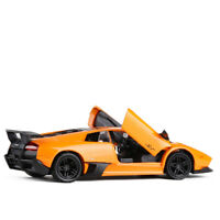 1:36 Lamborghini Murcielago LP670-4 SV Car Model Alloy Diecast Gift Toy Orange