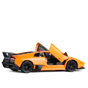 1:36 Lamborghini Murcielago LP670-4 SV Car Model Alloy Diecast Gift Toy Orange