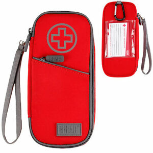 USA GEAR FlexARMOR Medical Case - Insulated Medicine Bag Holds Two EpiPens