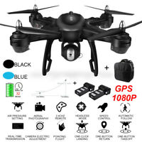 LH-X38G Dual GPS FPV With 1080P HD Camera Wifi RC Drone Quadcopter+Backpack E